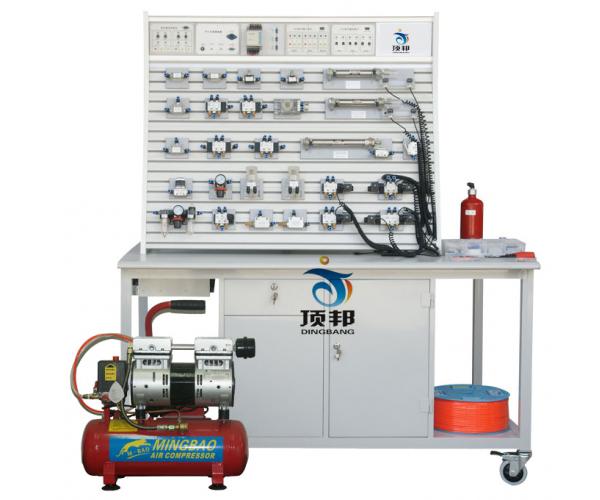 铝槽式铁桌气动PLC控制实验台